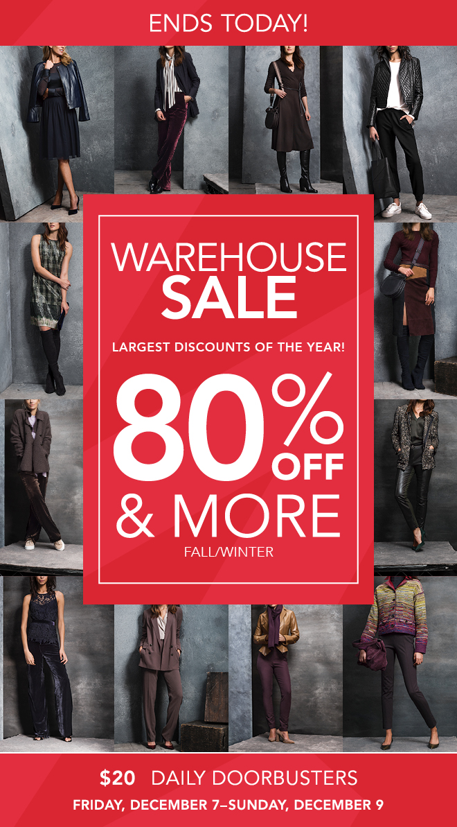 Warehouse Sale Sec_Email 5_ ends today