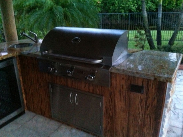 Illinois Built in Grill Cleaning