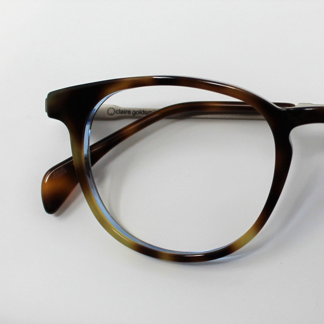 Goldsmith- Avery- Electric Amber Tortoise