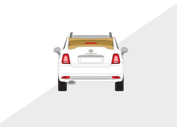 Auto belettering TASJA VIEW
