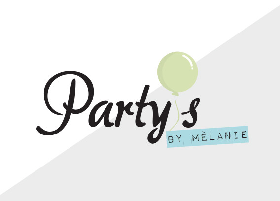 Logo Party's by Melaine