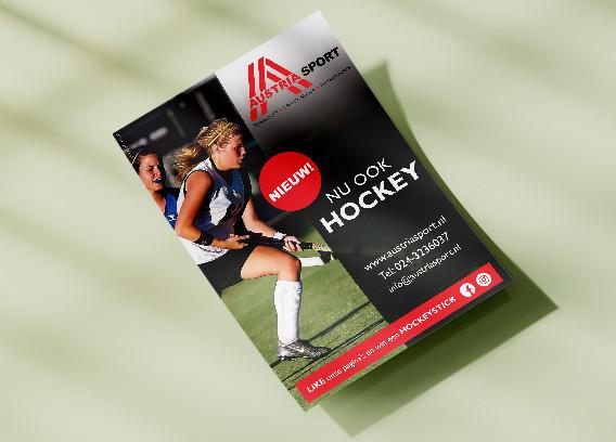 Flyer voorzijde Austria Sport