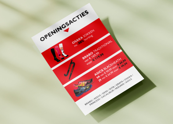 Flyer achterzijde Austria Sport