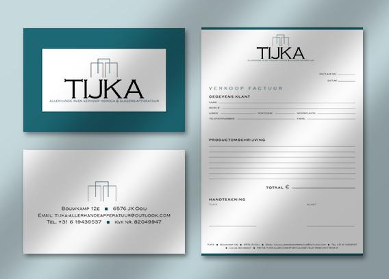 Visitekaartje horeca/slagers apparatuur bedrijf