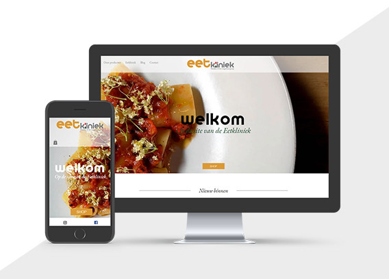 Website Eetkliniek