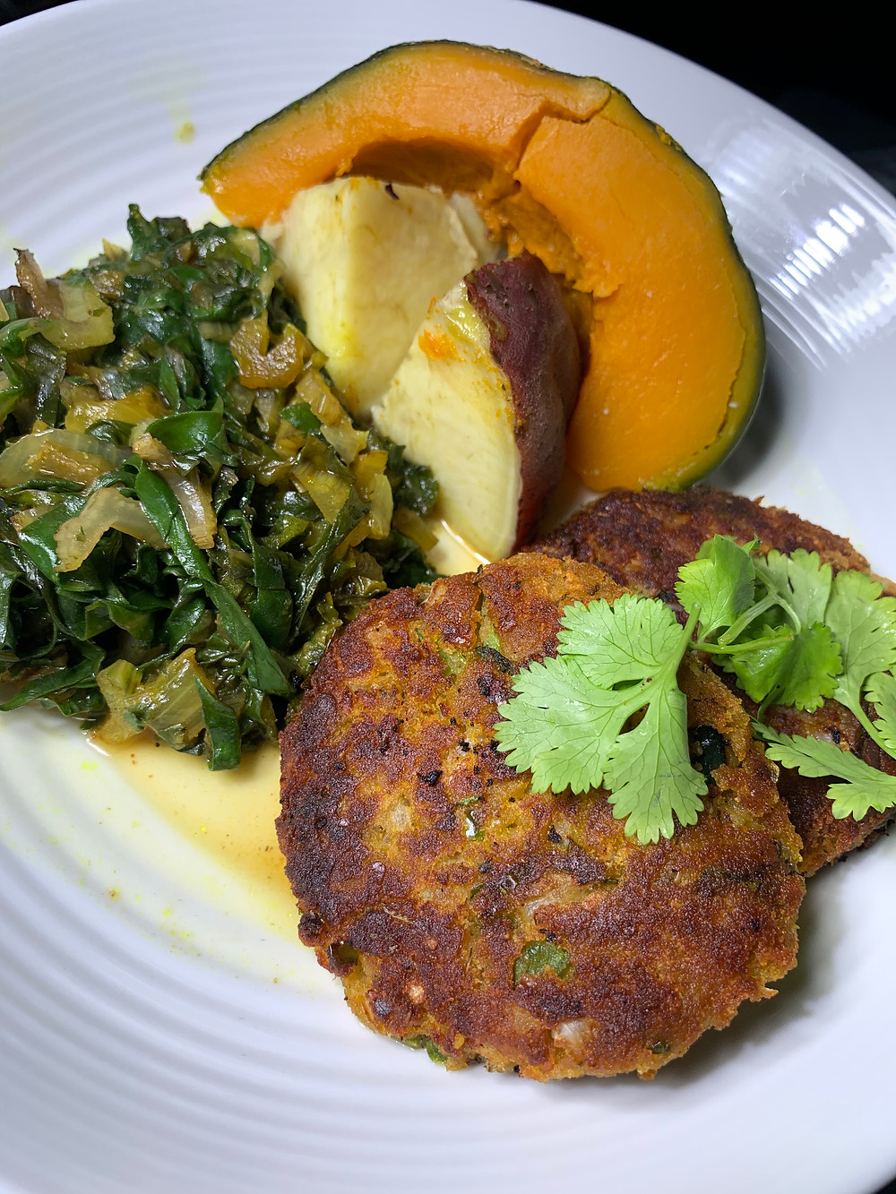 Red Lentil Pumpkin Patties