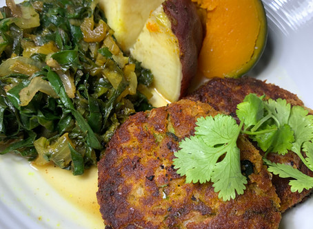 Red Lentil Pumpkin Patties - Vata Recipe