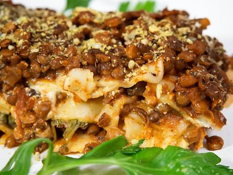 Gluten-Free Vegan Lasagna - 45 minutes
