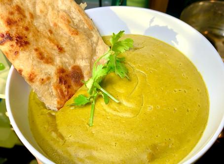 Mung Bean Coconut Asparagus Soup - 45 minutes