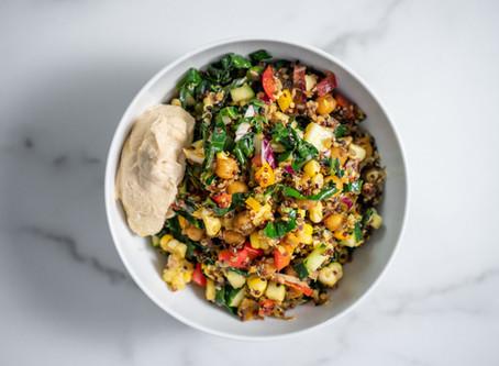 Ayurvedic Jamaican Quinoa Salad