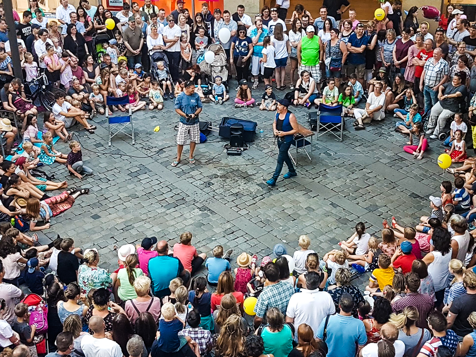Street Theatre in Bamberg