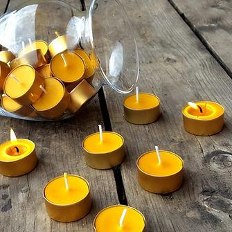 Svíčky v kalíšku