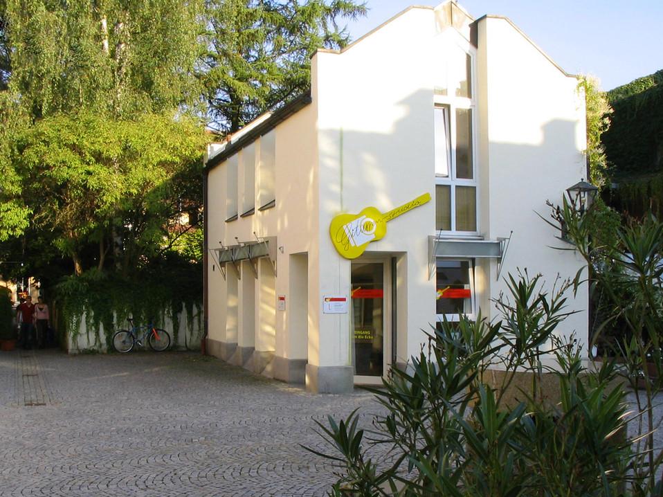 Das alte »Deggendorfer Gitarrenstudio«