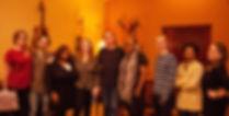 Black and White Movie | Mitglieder des Soul Sanctuary Gospel Choir bei den Aufnahmen mit Christian Kammerl