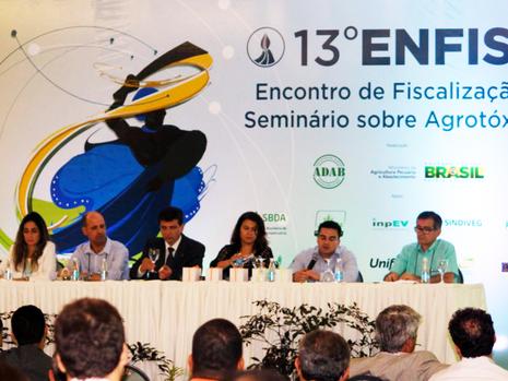 Resistência das pragas a métodos de controle é debatida durante o Seminário de Agrotóxicos no Enfisa