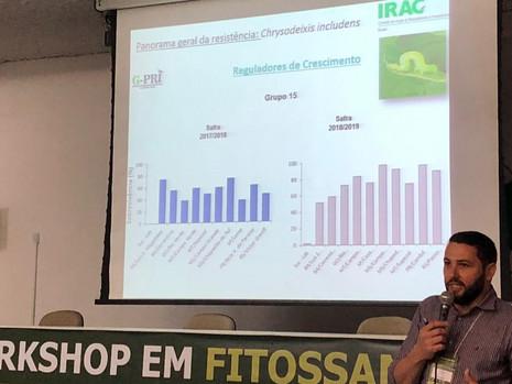 IRAC-BR participa do I Workshop em Fitossanidade