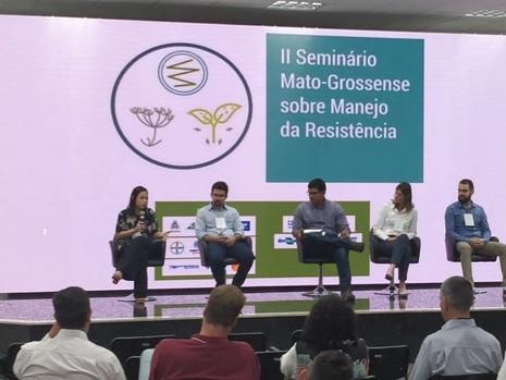IRAC-BR participa de evento sobre manejo da resistência no Mato Grosso