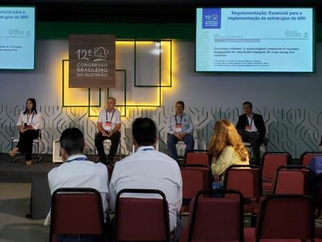 IRAC-BR participa do 12º Congresso Brasileiro do Algodão