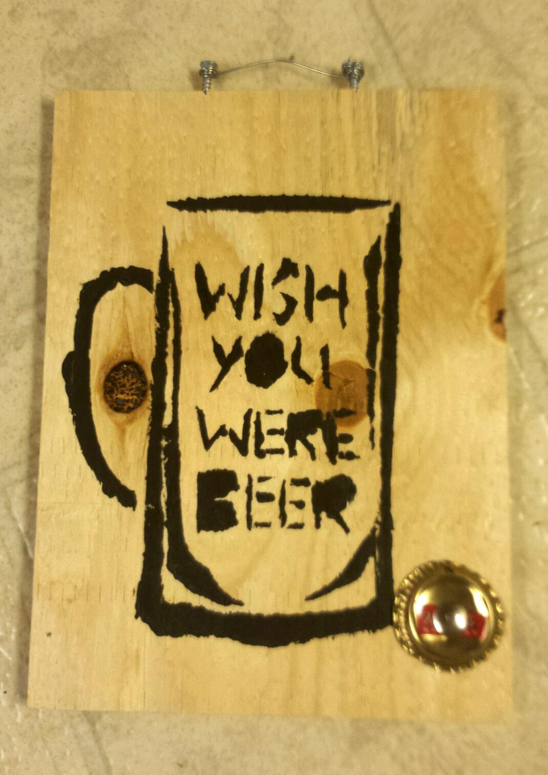 Stencil on Wood