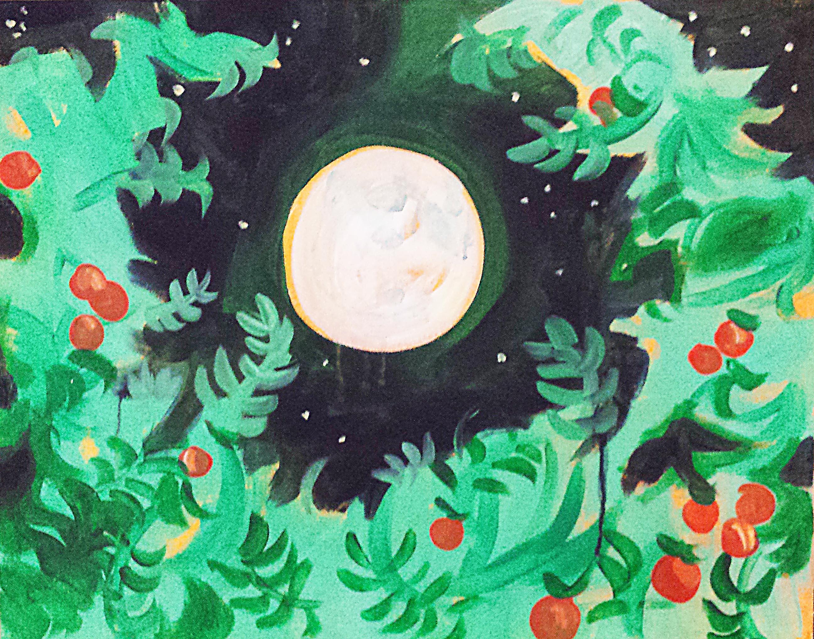 Orange Tree Moon