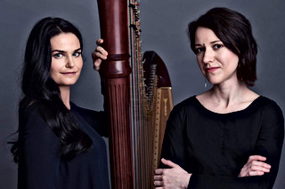 With Anastasia Razvayaeva (harp)