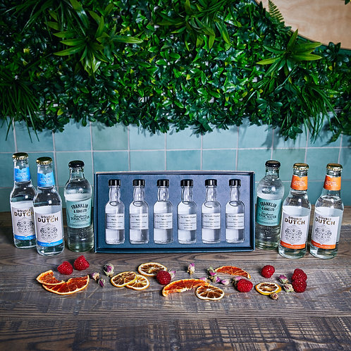 Sweet gin tasting experience for two