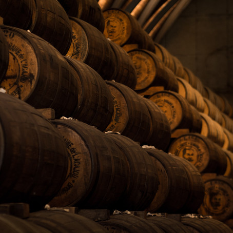 What is barrel aged gin?