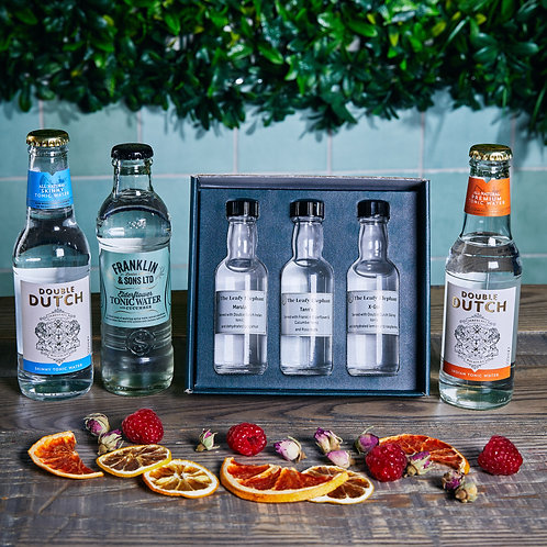 Sweet gin tasting experience for one