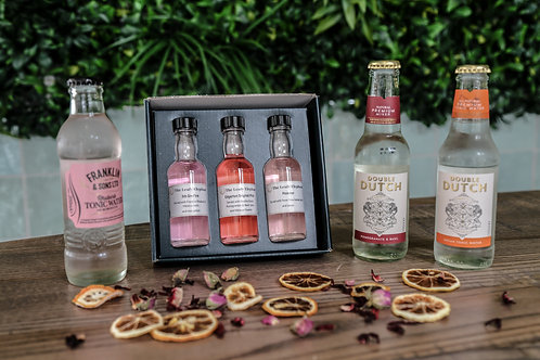 Pink gin tasting experience for one
