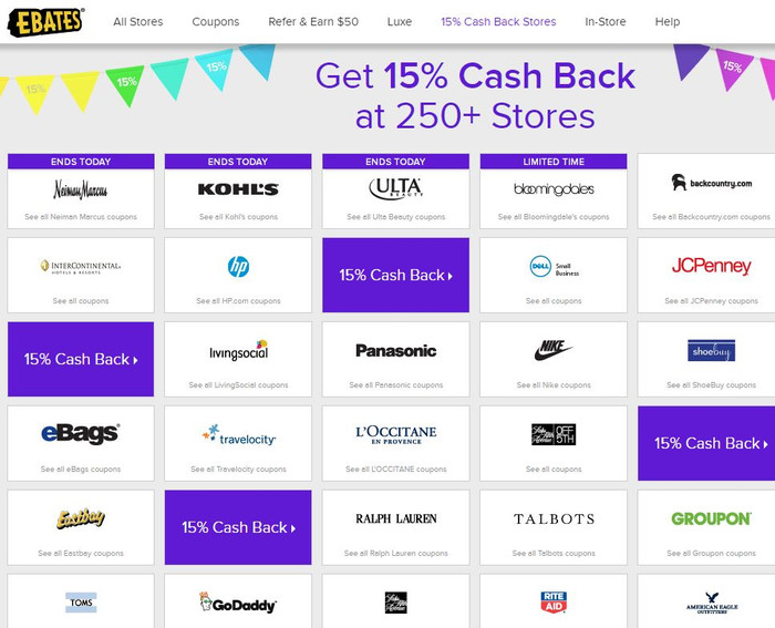 It's a great day to Ebates!