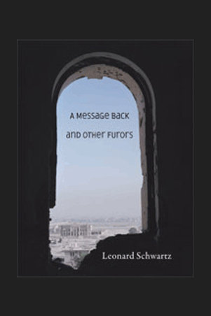 A Message Back and Other Furors by Leonard Schwartz