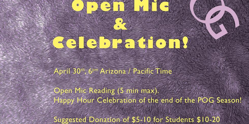 POG Poetry Open Mic & Celebration!