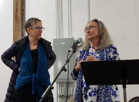 Barbara Henning & Maureen Owen: Poets on the Road