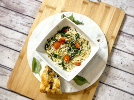 One Pot Spinach Pasta