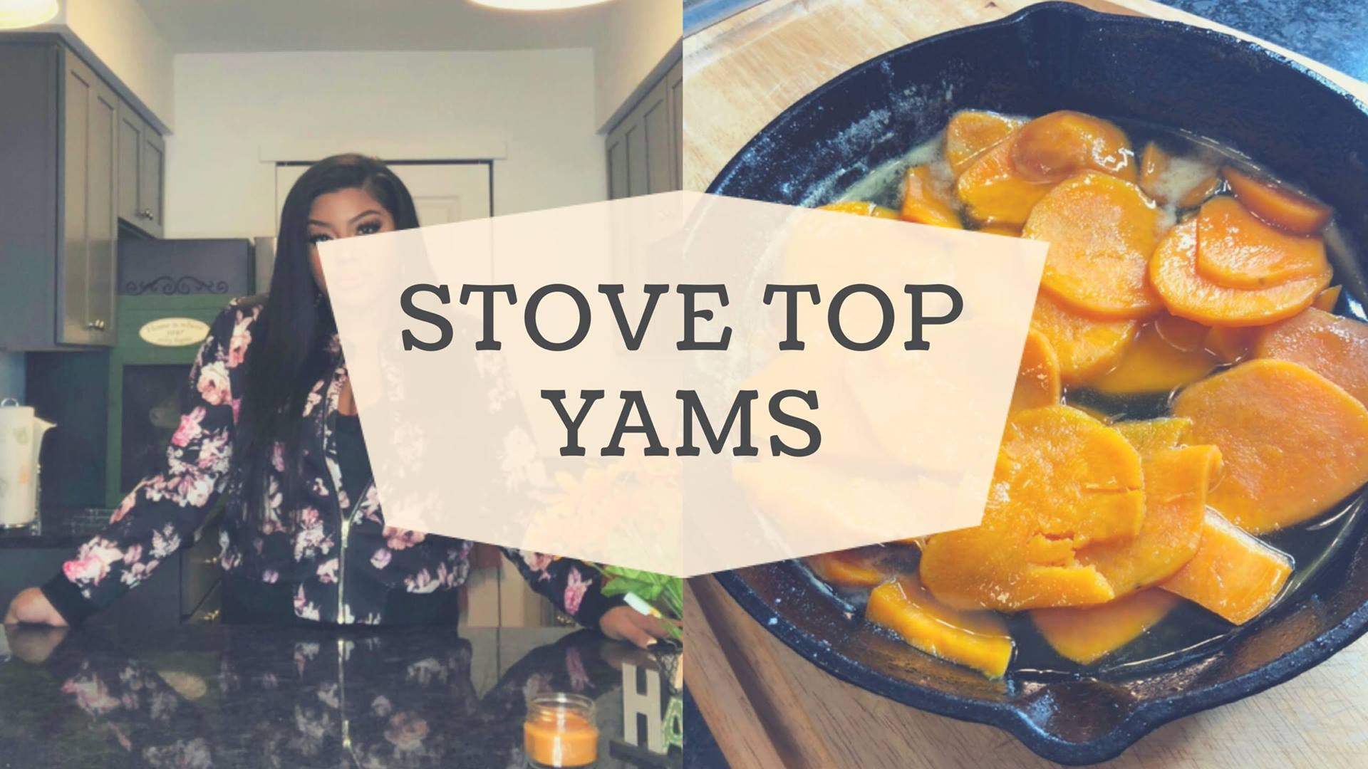 How To Make Stove Top yams