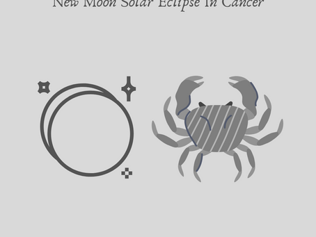 June 21st New Moon In Cancer - The Annual Solar Eclipse