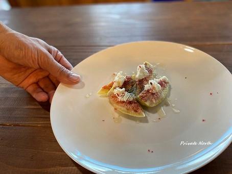 自家製リコッタチーズと南郷産イチジク