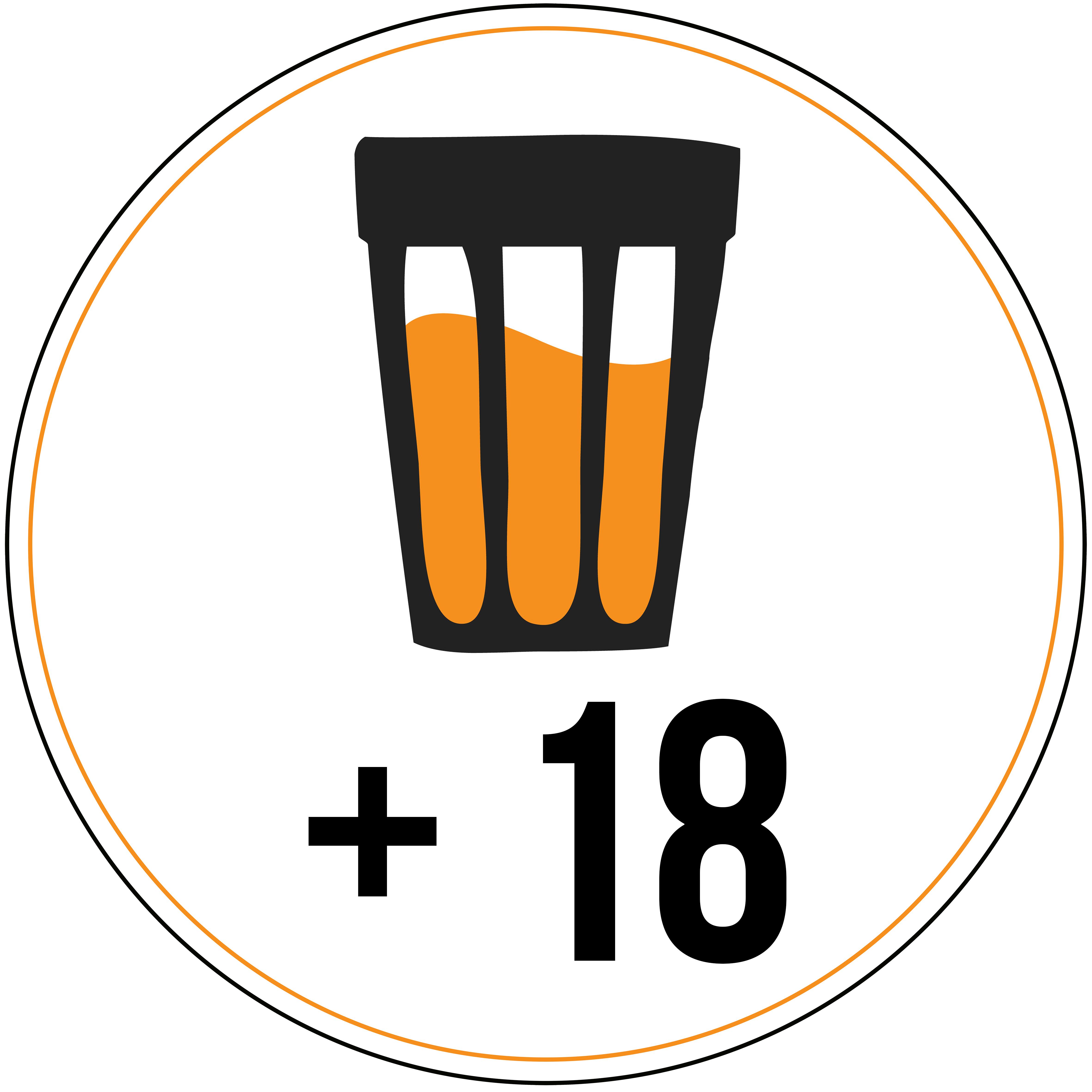 Logo 1 - circulo branco MD + 18