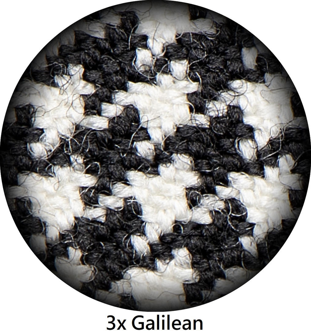 3x Galilean Magnification