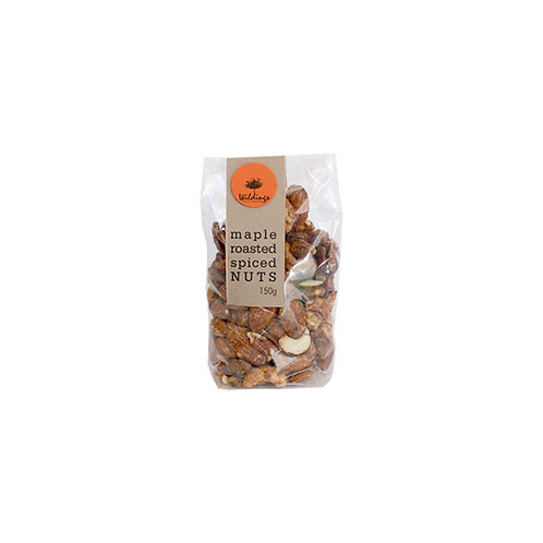 Maple Roasted Spiced Nuts