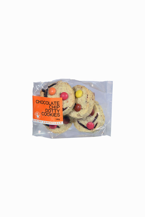 Chocolate Chip Dotty Biscuits 140g