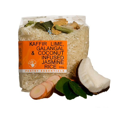 Kafir Lime, Galangal & Coconut Jasmine Rice