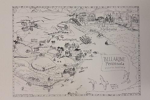 """A Slice of the Bellarine"" A3"