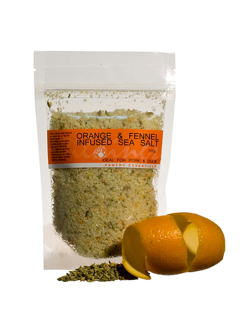 Orange & Fennel Infused Sea Salt