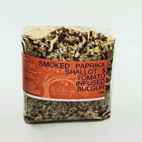 Smoked Paprika, Shallot & Tomato Infused Bulgur