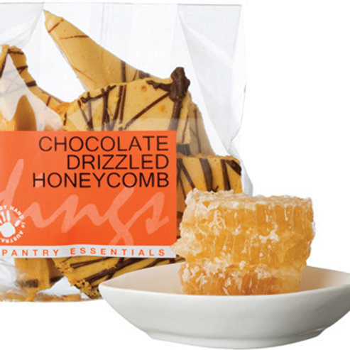 Chocolate Drizzled Honeycomb 120g