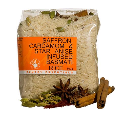 Saffron, Cardamom & Star Anise Basmati Rice