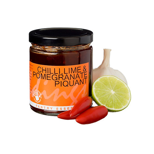 Chilli, Lime & Pomegranate Piquant 270g