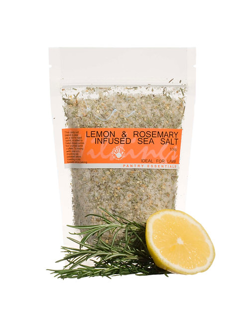 Lemon & Rosemary Infused Sea Salt