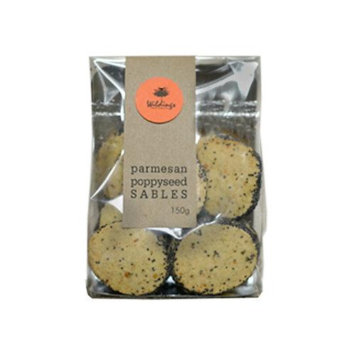 Parmesan Poppyseed Sables